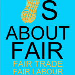 The modified shirt, reflecting the focus on Fair Trade and Fair Labour.